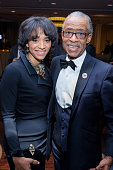 Jennifer Jones Austin and Reverend Al Sharpton attend the 2016 NAN 'Keepers Of The Dream' Dinner and Awards Ceremony at the Sheraton New York Hotel...