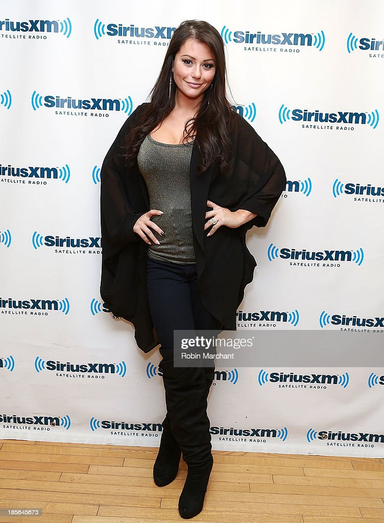 Jennifer 'JWoww' Farley at SiriusXM Studios on October 23, 2013 in New York City.