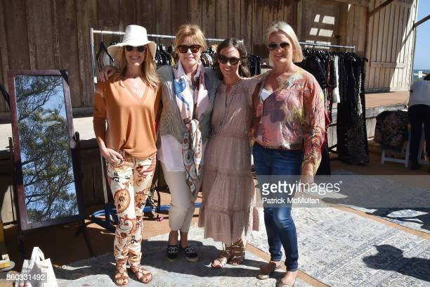 Jennifer Keller Kathi Koll Brooke Shepherdson and Melissa Smith attend Hearst Castle Preservation Foundation Annual Benefit Weekend 'Lunch at the...