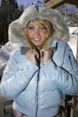 Jennifer Kelly Tisdale during UPP Hot House sponsored by The North Face Napapijri Hush Puppies Nautica LEE Biolage Absolut Atkins Wigwam and Evian at...