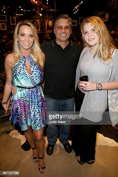 Jennifer Kevin and Ashley Mazur attend 'A Tribute To Rock Roll' hosted by Schott NYC Featuring Photographs from Photographer Kevin Mazur at The...