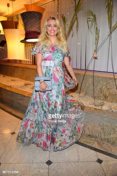 Jennifer Knaeble attends the 14th SPA Diamond Award at Hotel Palace Berlin on July 3 2017 in Berlin Germany
