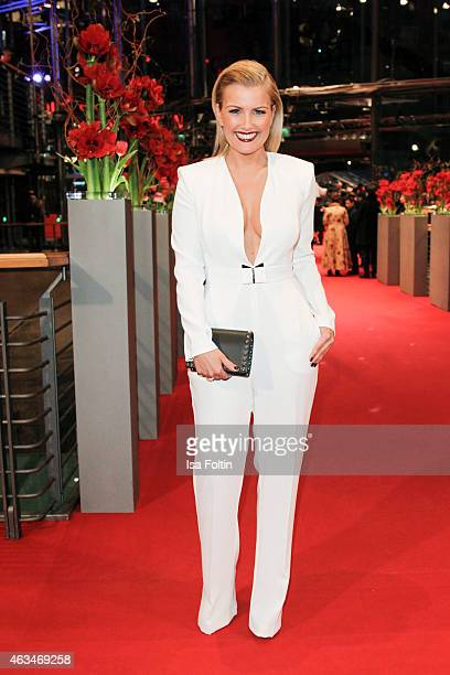 Jennifer Knaeble attends the Closing Ceremony of the 65th Berlinale International Film Festival on February 14 2015 in Berlin Germany