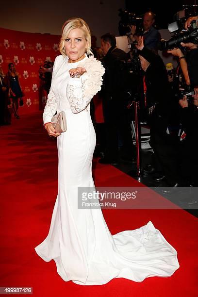 Jennifer Knaeble attends the Mon Cheri Barbara Tag 2015 at Postpalast on December 4 2015 in Munich Germany
