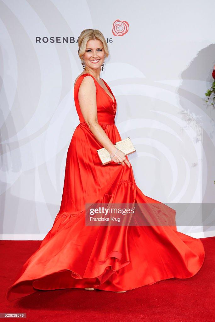 Jennifer Knaeble attends the Rosenball 2016 on April 30 in Berlin, Germany.