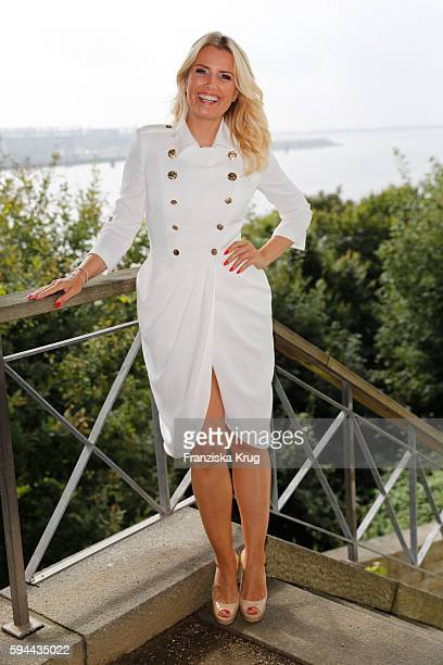 Jennifer Knaeble attends the Society Relations Ladies Lunch in favor of the Stiftung Deutsche SchlaganfallHilfe on August 23 2016 in Hamburg Germany
