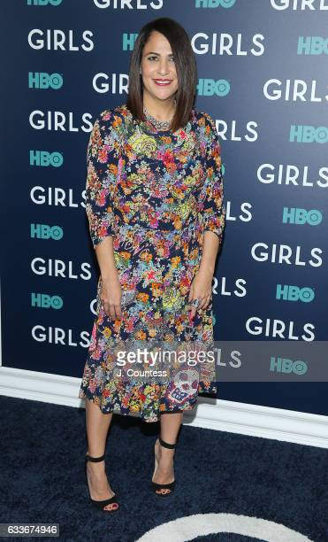 Jennifer Konner attends The New York Premiere Of The Sixth Final Season Of 'Girls' at Alice Tully Hall Lincoln Center on February 2 2017 in New York...