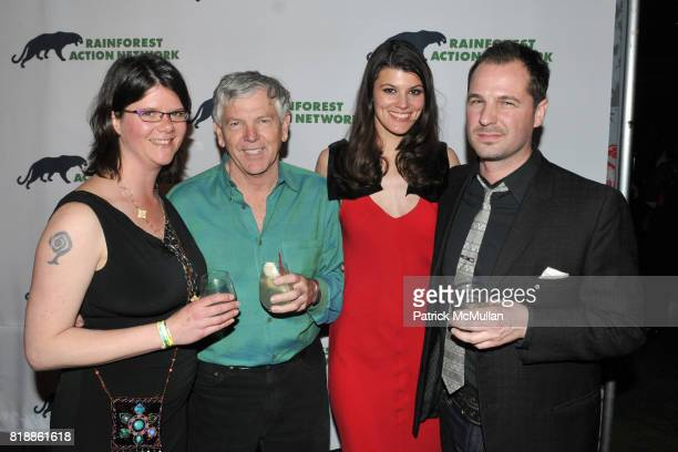 Jennifer Krill Randy Hayes Han Shan and Han Shan attend RAINFOREST ACTION NETWORK's 25th Anniversary Benefit Hosted by CHRIS NOTH at Le Poisson Rouge...