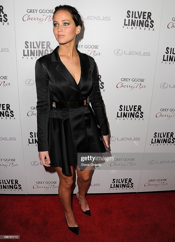 Jennifer Lawrence arrives at the 'Silver Linings Playbook' - Los Angeles Special Screening at the Academy of Motion Picture Arts and Sciences on November 19, 2012 in Beverly Hills, California.