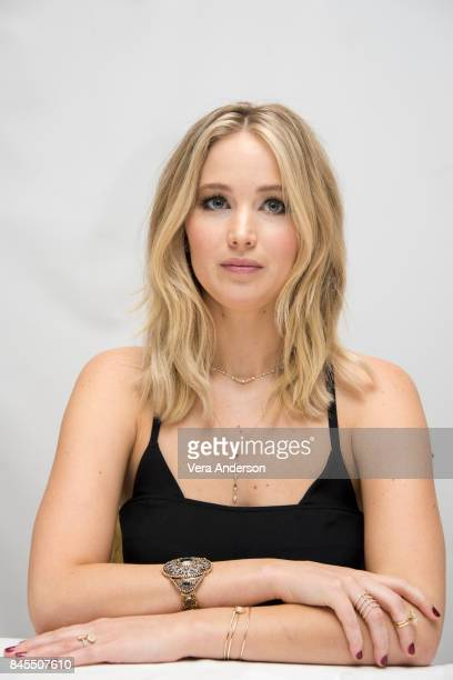 Jennifer Lawrence at the 'mother' Press Conference at the Fairmont Royal York Hotel on September 10 2017 in Toronto Canada