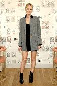 Jennifer Lawrence At The Wing Soho