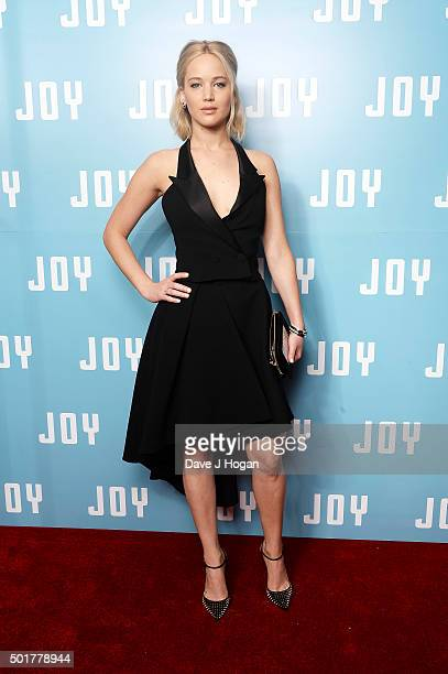 Jennifer Lawrence attends a special screening of 'Joy' at Ham Yard Hotel on December 17 2015 in London England