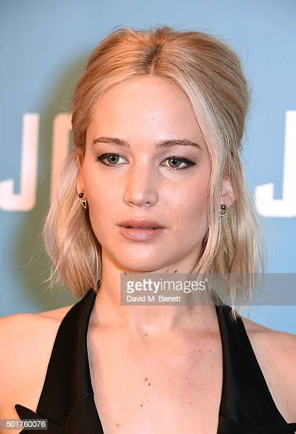 Jennifer Lawrence attends a special screening of 'Joy' at the Ham Yard Hotel on December 17 2015 in London England
