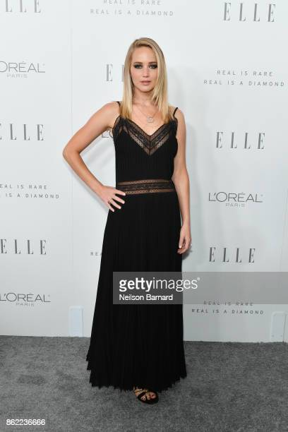 Jennifer Lawrence attends ELLE's 24th Annual Women in Hollywood Celebration presented by L'Oreal Paris Real Is Rare Real Is A Diamond and CALVIN...