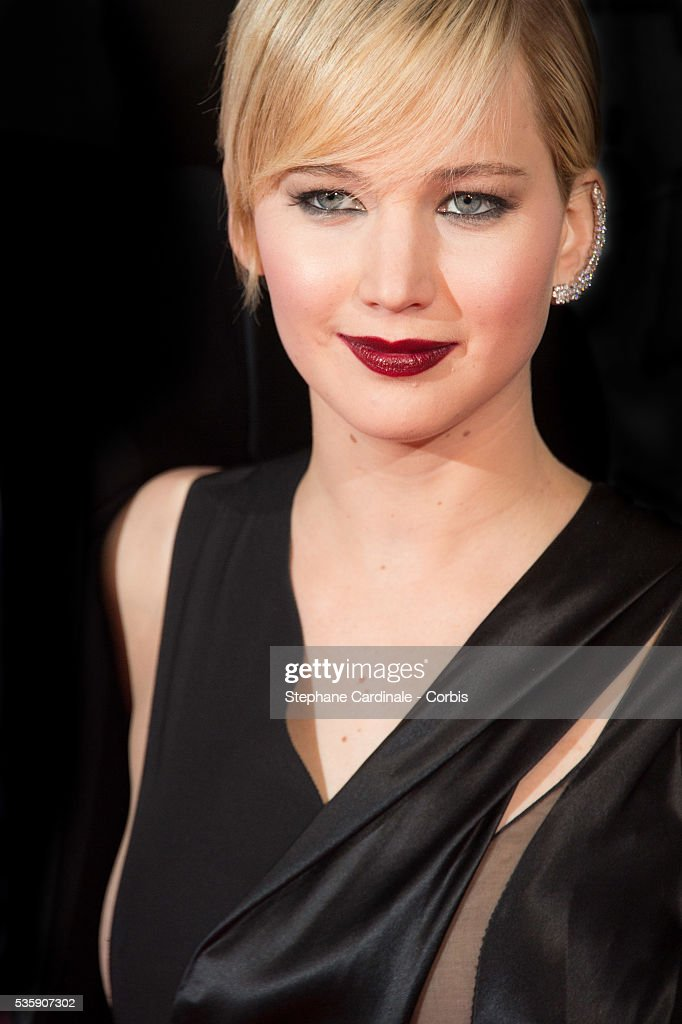 Jennifer Lawrence attends 'The Hunger Games: Catching Fire' Paris Premiere at Le Grand Rex, in Paris.