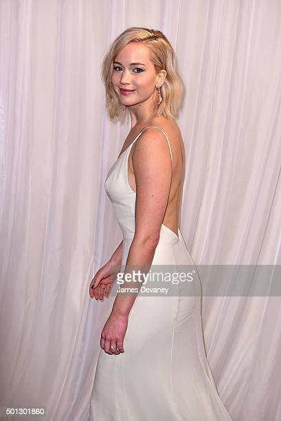 Jennifer Lawrence attends the 'Joy' New York Premiere at Ziegfeld Theater on December 13 2015 in New York City