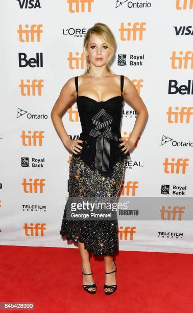 Jennifer Lawrence attends the 'mother' premiere during the 2017 Toronto International Film Festival at Princess of Wales Theatre on September 10 2017...