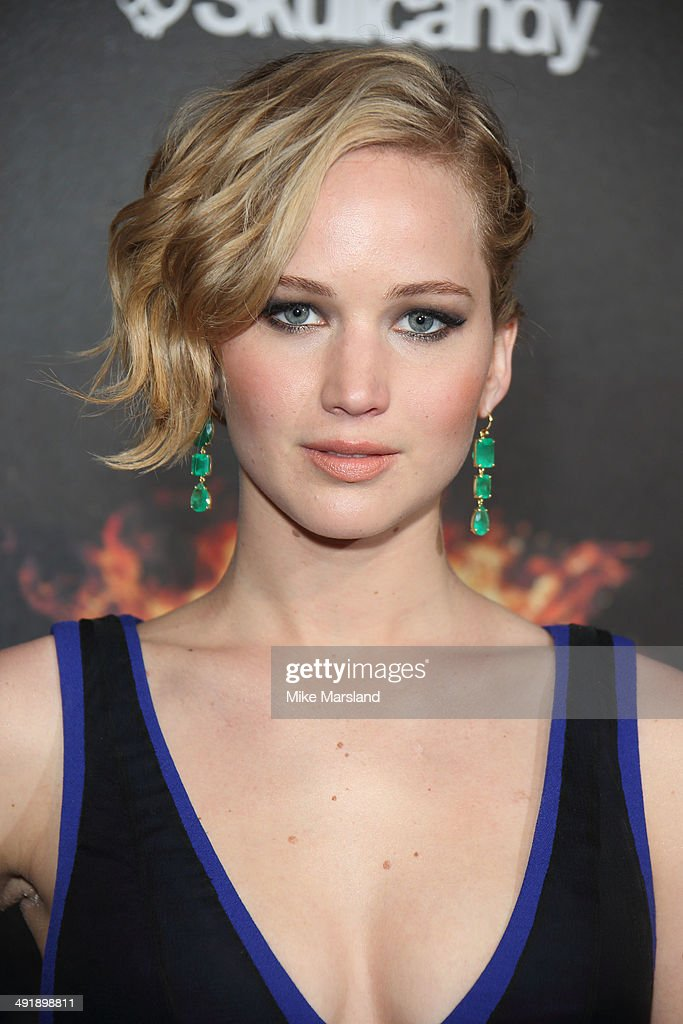 <a gi-track='captionPersonalityLinkClicked' href=/galleries/search?phrase=Jennifer+Lawrence&family=editorial&specificpeople=1596040 ng-click='$event.stopPropagation()'>Jennifer Lawrence</a> attends the 'The Hunger Games: Mockingjay Part 1' party at the 67th Annual Cannes Film Festival on May 17, 2014 in Cannes, France.