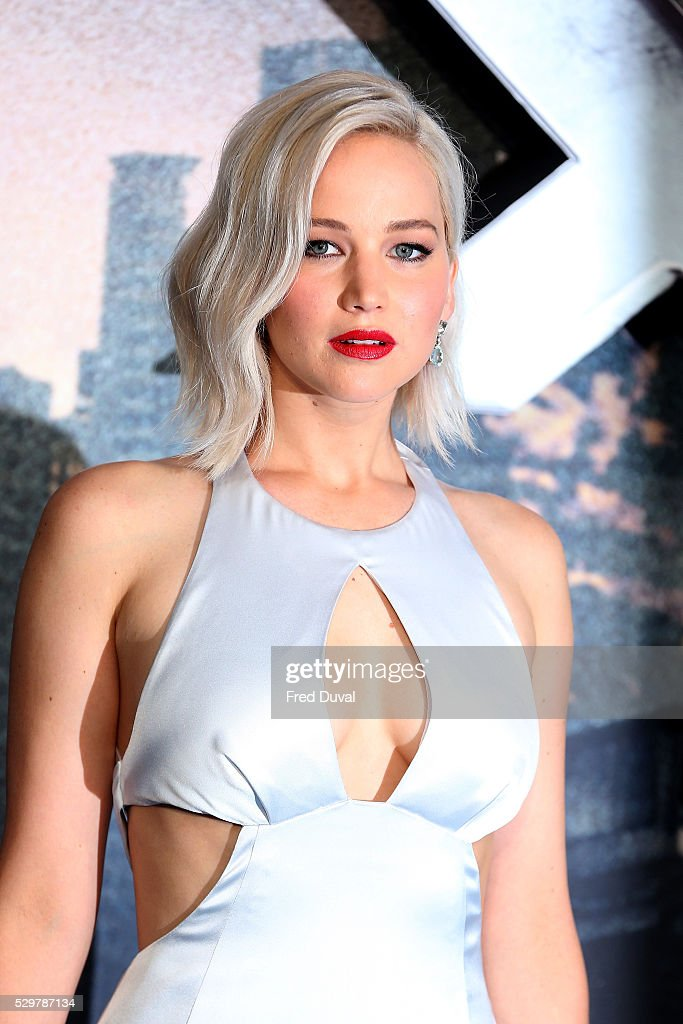 Jennifer Lawrence attends the 'XMen Apocalypse' Global Fan Screening at BFI IMAX on May 9 2016 in London England
