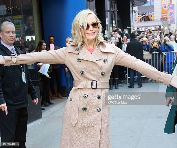 Jennifer Lawrence is seen on November 18 2015 in New York City