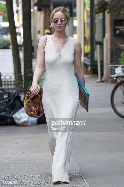 Jennifer Lawrence seen on May 19 2017 in New York City
