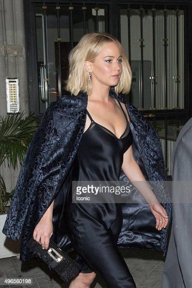 Jennifer Lawrence seen on November 10 2015 in Madrid Spain