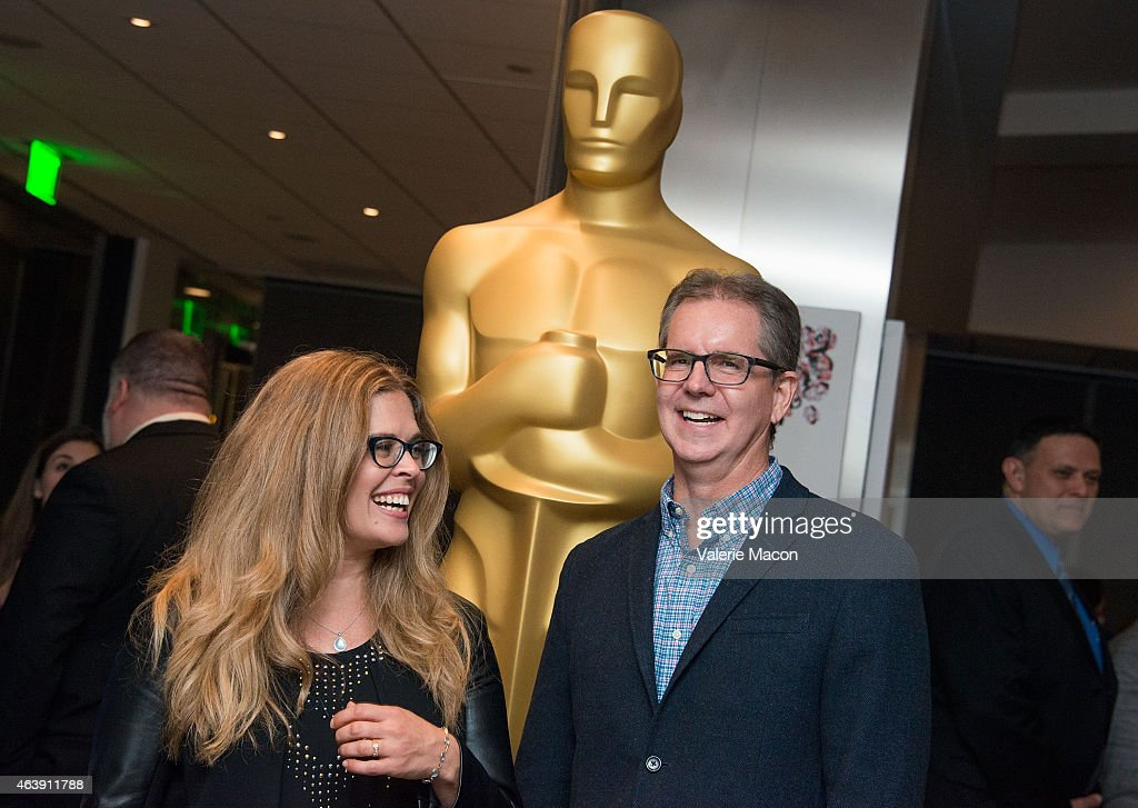 Jennifer Lee and Chris Buck attend the 87th Annual Academy Awards Oscar Week Celebrates Animated Features at Samuel Goldwyn Theater on February 19...