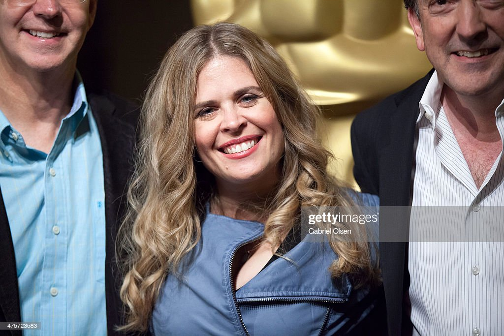Jennifer Lee arrives for the 86th Annual Academy Awards Oscar Week Celebration of Animated Features at AMPAS Samuel Goldwyn Theater on February 28...