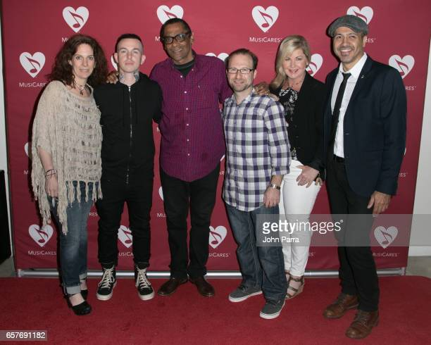 Jennifer Leff Daniel Disaster of HXV Heroes x Villains Harold Owens Lee Levin Susan Stewart and Kenny Cordova attend the Addiction Health Wellness in...