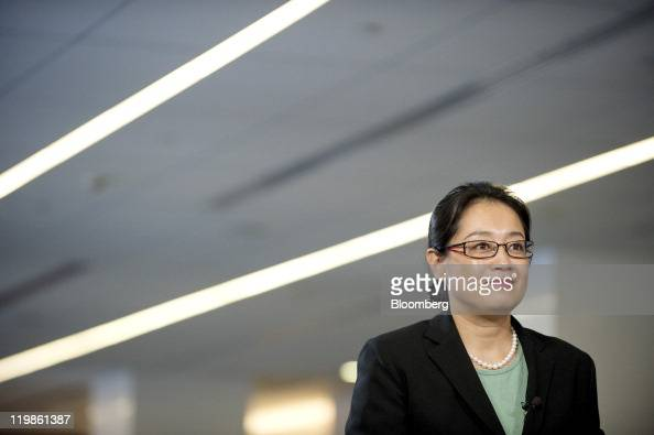 Jennifer Li chief financial officer of Baidu Inc attends an interview in Beijing China on Tuesday July 26 2011 Baidu Inc will use cash generated from...