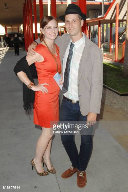 Jennifer Locke and Russell George attend 'John Baldessari Pure Beauty' at LACMA at Los Angeles County Museum of Art on June 23 2010 in Los Angeles...