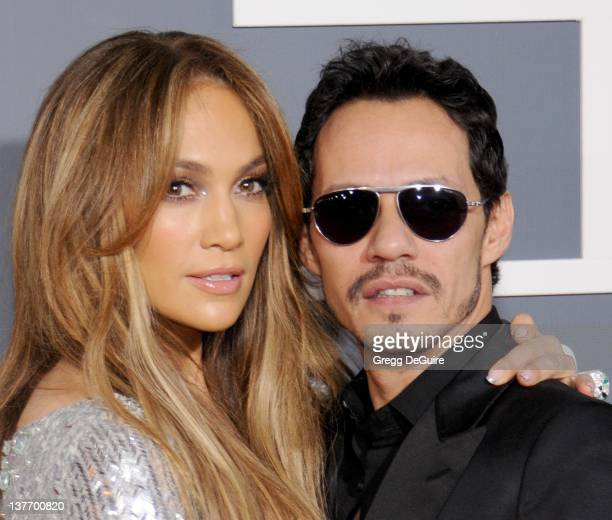 Jennifer Lopez and Marc Anthony arrive for the 53rd Annual GRAMMY Awards at the Staples Center February 13 2011 in Los Angeles California