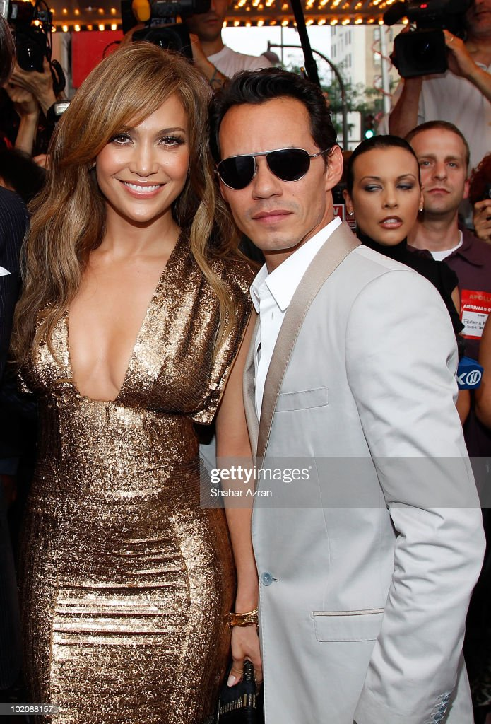 Jennifer Lopez and Marc Anthony attend the 2010 Apollo Theater Spring Benefit Concert & Awards Ceremony at The Apollo Theater on June 14, 2010 in New York City.
