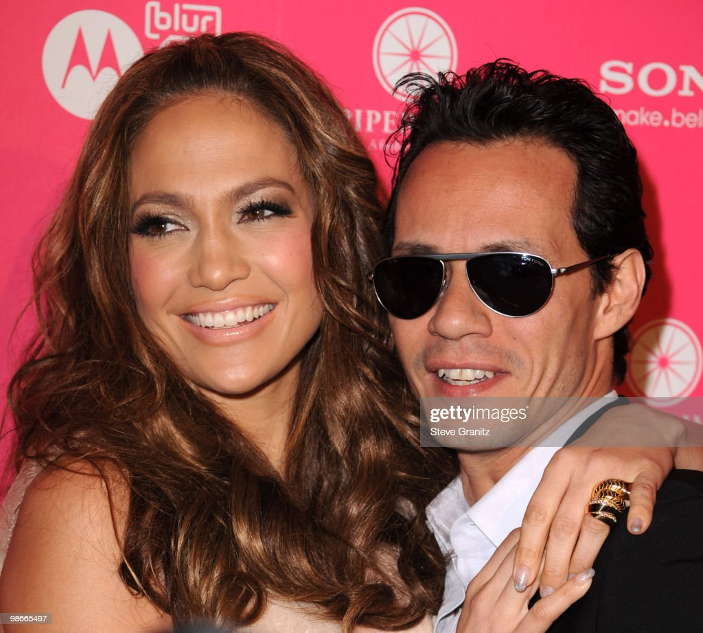 Jennifer Lopez and Marc Anthony attends the Us Weekly Hot Hollywood Style Issue Event at Drai's Hollywood on April 22, 2010 in Hollywood, California.