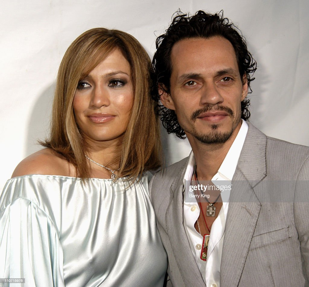 Jennifer Lopez and Marc Anthony during 'Monster-In-Law' Los Angeles Premiere - Arrivals at Mann National Theatre in Westwood, California, United States.