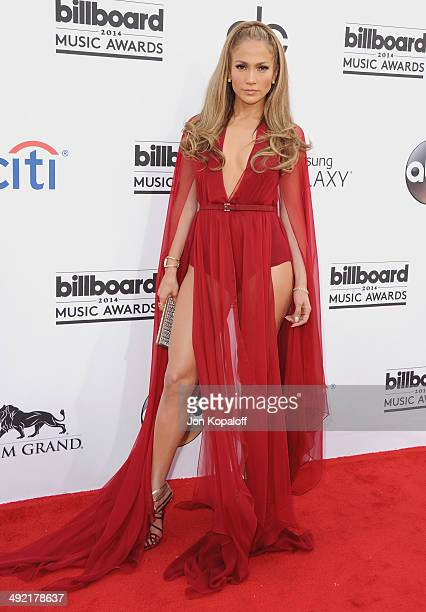 Jennifer Lopez arrives at the 2014 Billboard Music Awards at the MGM Grand Hotel and Casino on May 18 2014 in Las Vegas Nevada