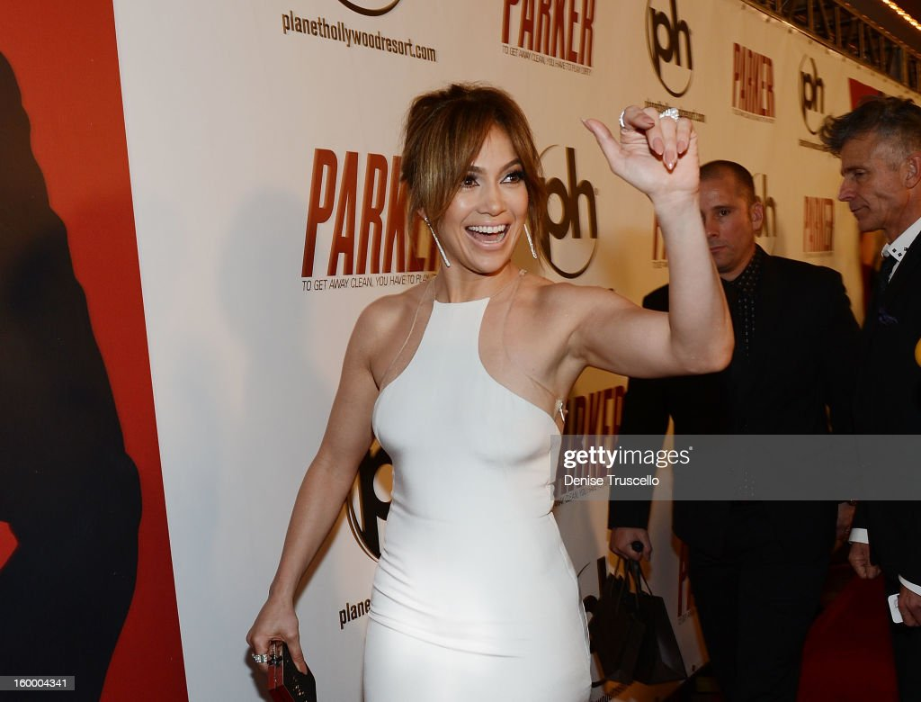 <a gi-track='captionPersonalityLinkClicked' href=/galleries/search?phrase=Jennifer+Lopez&family=editorial&specificpeople=201784 ng-click='$event.stopPropagation()'>Jennifer Lopez</a> arrives at the premiere of Film District's 'Parker' at Planet Hollywood Resort & Casino on January 24, 2013 in Las Vegas, Nevada.