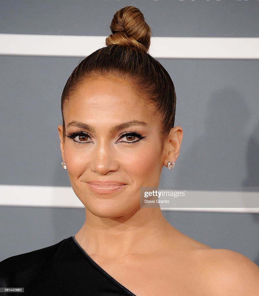 <a gi-track='captionPersonalityLinkClicked' href=/galleries/search?phrase=Jennifer+Lopez&family=editorial&specificpeople=201784 ng-click='$event.stopPropagation()'>Jennifer Lopez</a> arrives at the The 55th Annual GRAMMY Awards on February 10, 2013 in Los Angeles, California.
