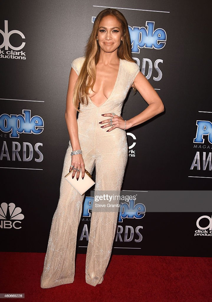 Jennifer Lopez arrives at the The PEOPLE Magazine Awards at The Beverly Hilton Hotel on December 18 2014 in Beverly Hills California