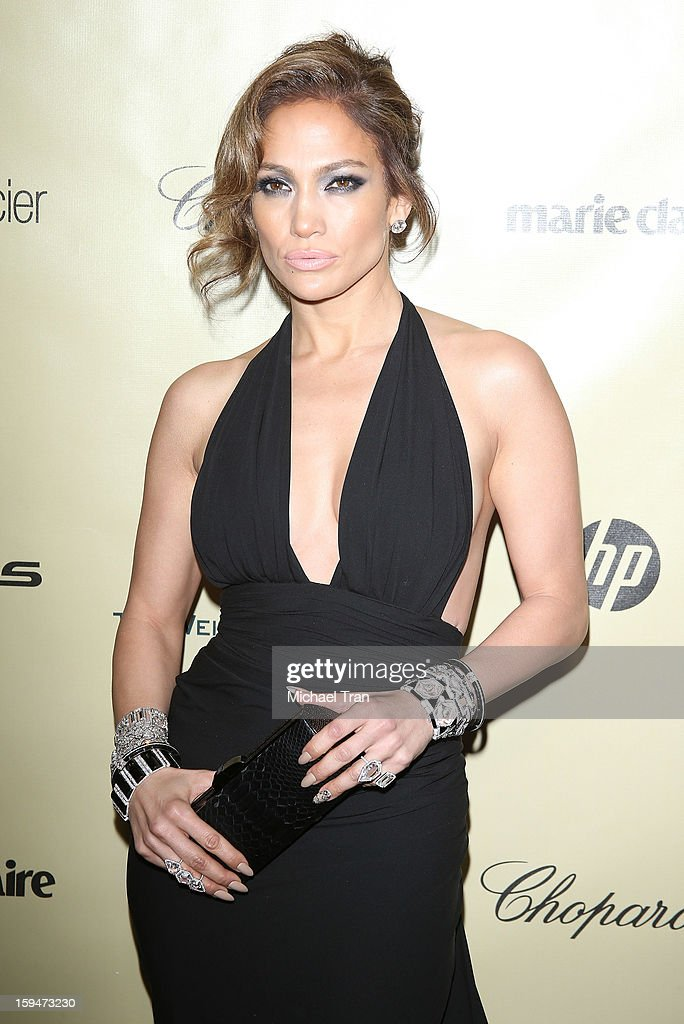 <a gi-track='captionPersonalityLinkClicked' href=/galleries/search?phrase=Jennifer+Lopez&family=editorial&specificpeople=201784 ng-click='$event.stopPropagation()'>Jennifer Lopez</a> arrives at The Weinstein Company's 2013 Golden Globes after party held at The Beverly Hilton Hotel on January 13, 2013 in Beverly Hills, California.