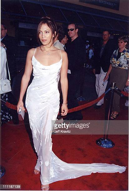 Jennifer Lopez at the 1998 premiere of Out of Sight in Los Angeles