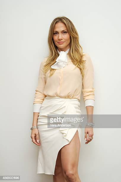Jennifer Lopez at 'The Fosters' Press Conference at the Four Seasons Hotel on September 30 2014 in Beverly Hills California