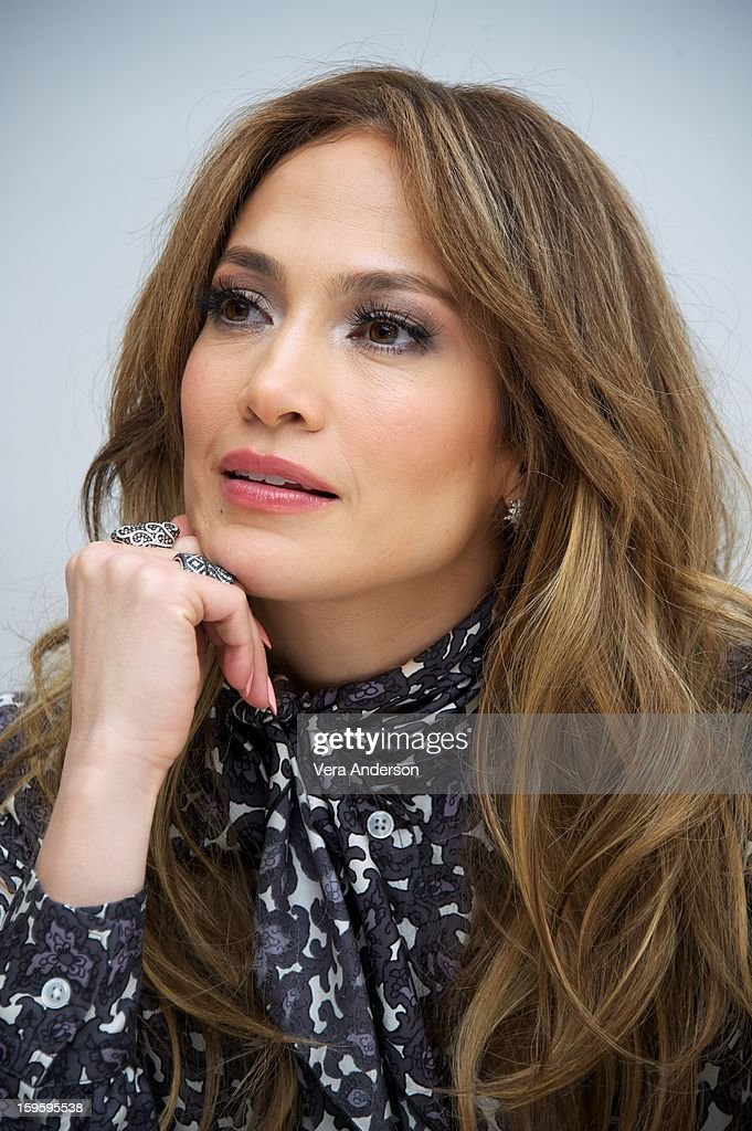 Jennifer Lopez at the 'Parker' Press Conference at the Four Seasons Hotel on January 16, 2013 in Beverly Hills, California.