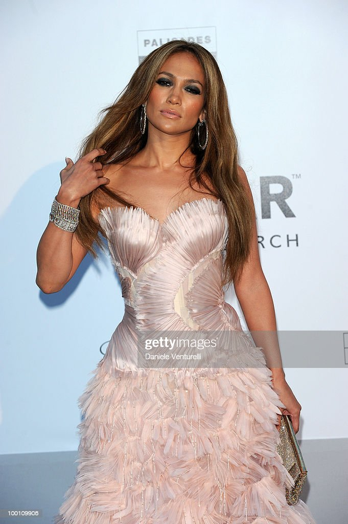 Jennifer Lopez attends amfAR's Cinema Against Aids Gala at the Hotel Du Cap during the 63rd International Cannes Film Festival on May 20, 2010 in Antibes, France.