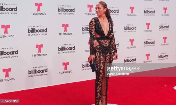 Jennifer Lopez attends Billboard Latin Music Awards Arrivals at Watsco Center on April 27 2017 in Coral Gables Florida