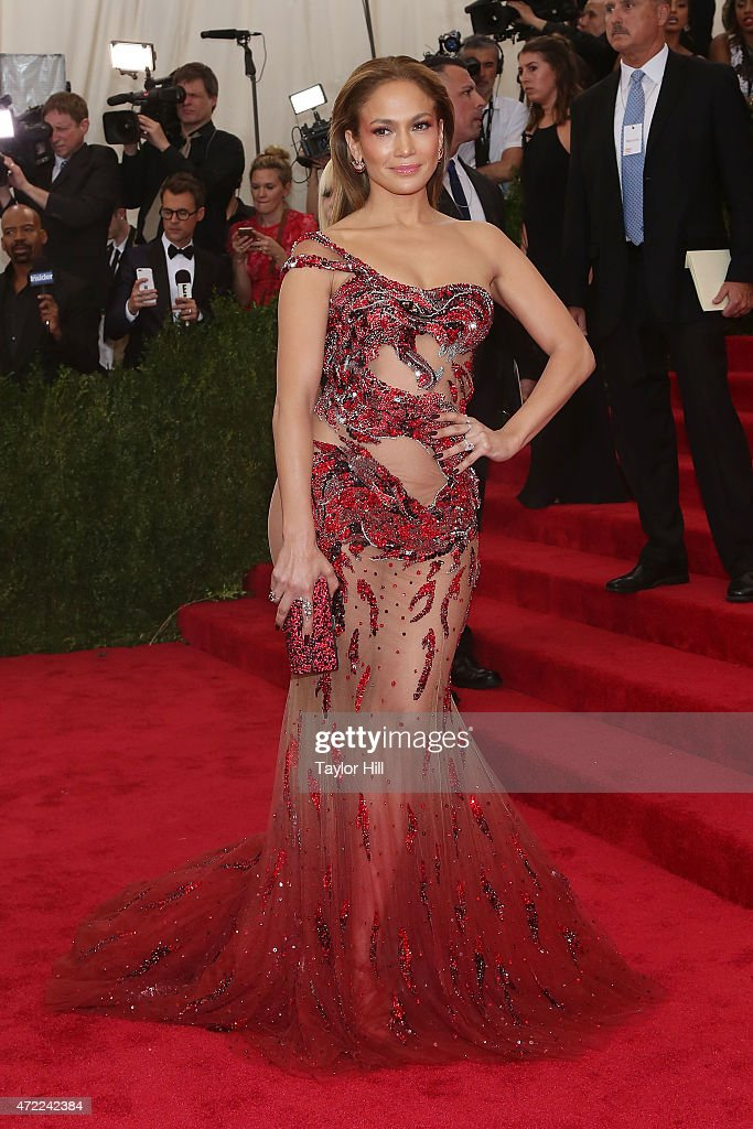 Jennifer Lopez attends 'China Through the Looking Glass' the 2015 Costume Institute Gala at Metropolitan Museum of Art on May 4 2015 in New York City