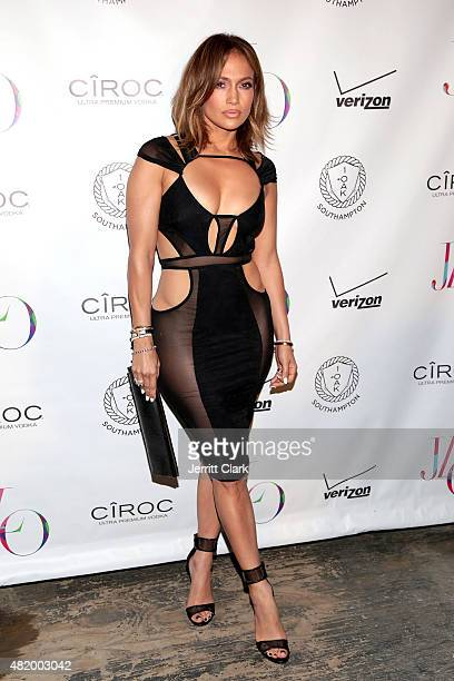 Jennifer Lopez attends her Birthday Celebration at 1OAK Southampton on July 25 2015 in Southampton City