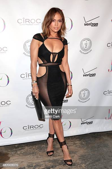 Jennifer Lopez attends her Birthday Celebration at 1OAK Southampton on July 25 2015 in Southampton City