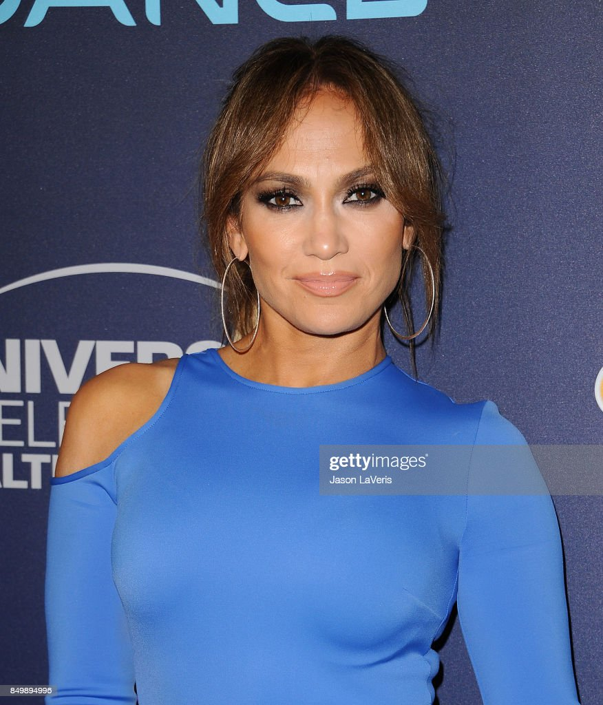 Jennifer Lopez attends NBC's 'World of Dance' celebration at Delilah on September 19, 2017 in West Hollywood, California.