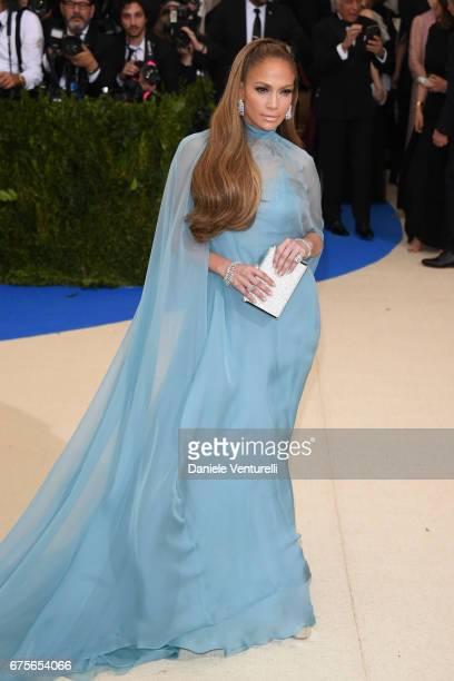 Jennifer Lopez attends 'Rei Kawakubo/Comme des Garcons Art Of The InBetween' Costume Institute Gala Arrivals at Metropolitan Museum of Art on May 1...